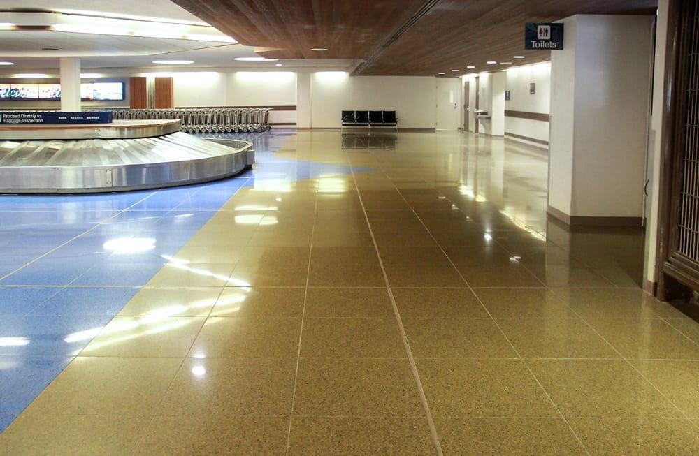 International Arrivals in Honolulu International Airport, Hawaii, USA