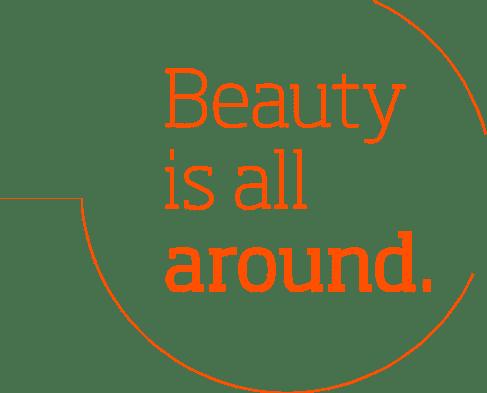 La belleza está a nuestro alrededor.