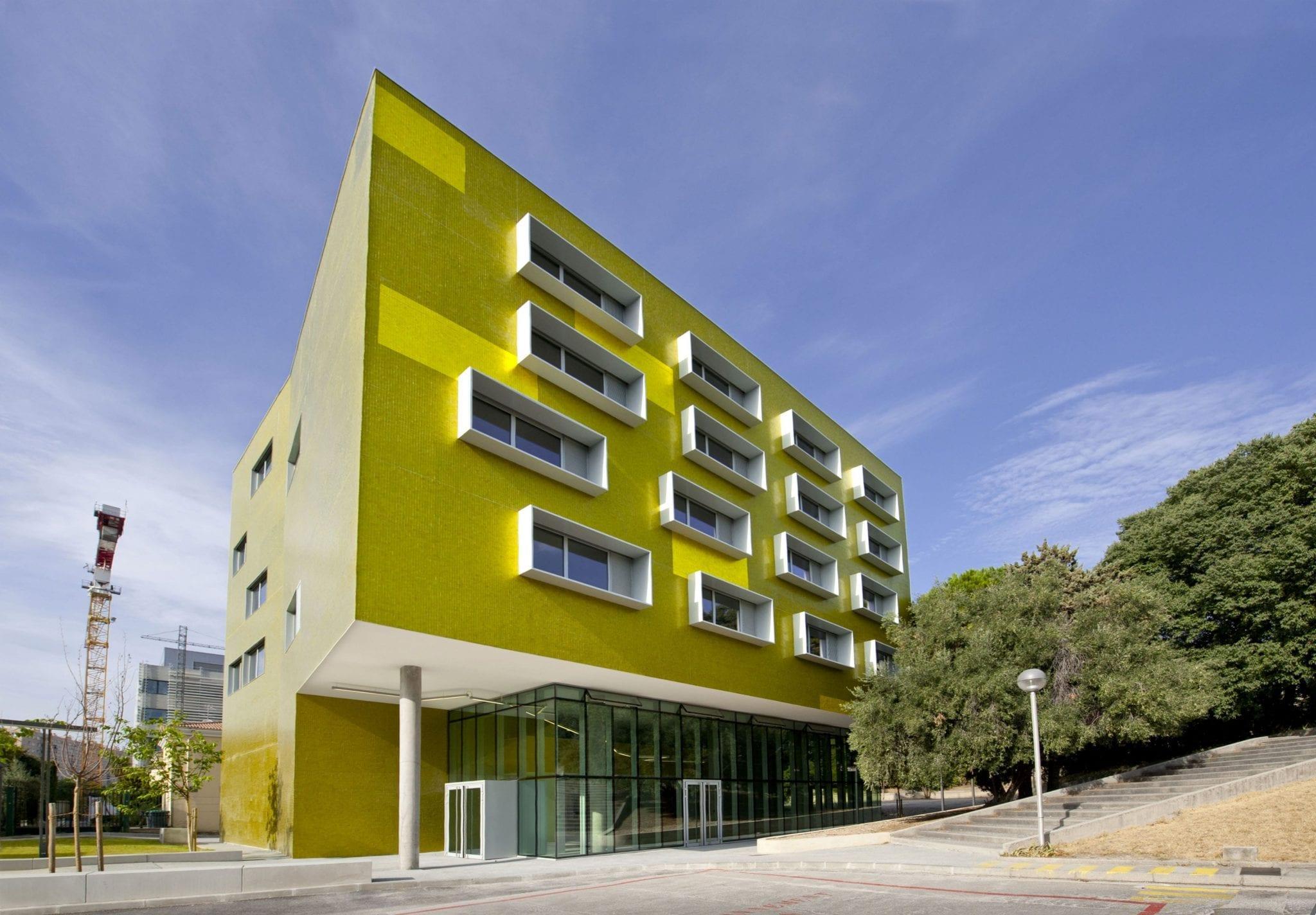 Le Campus de la Timone in Marseille France Slide