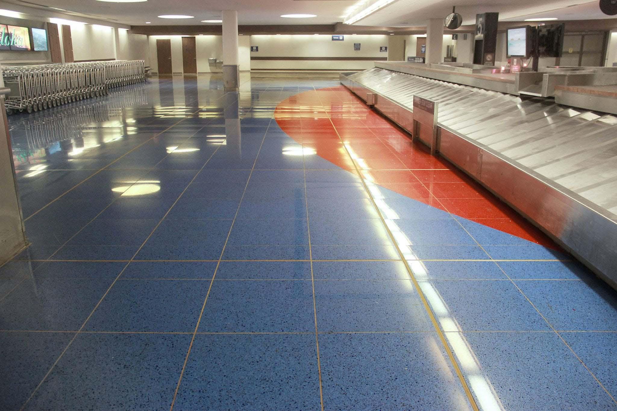 International Arrivals in Honolulu International Airport in Hawaii, USA