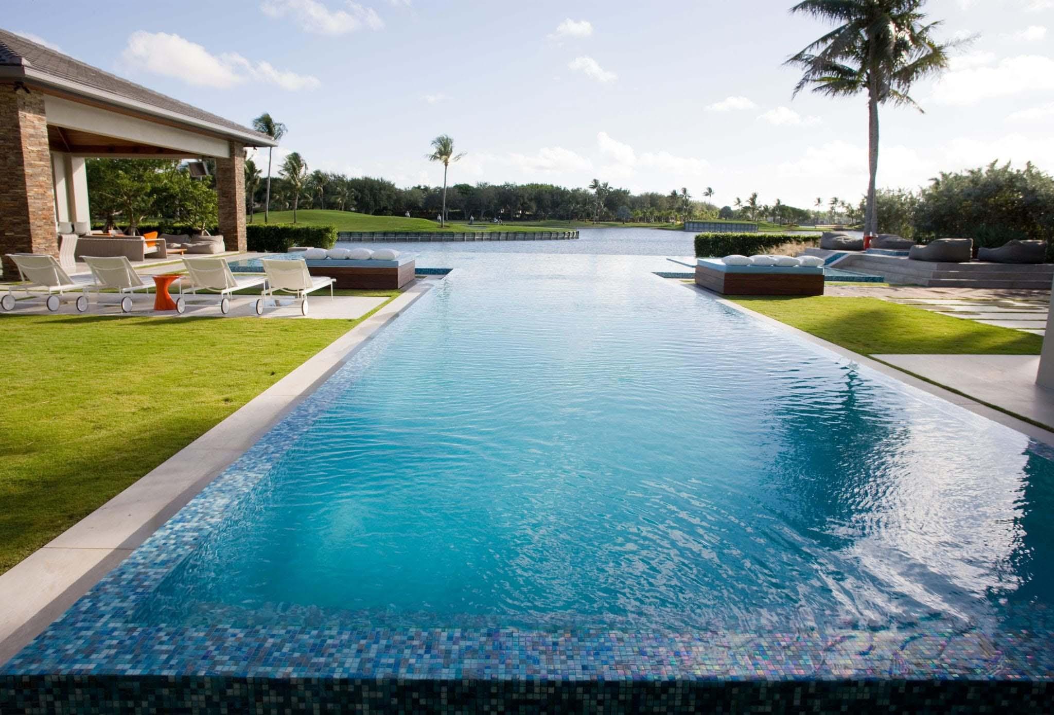 Private Pool in Boca Raton, Florida
