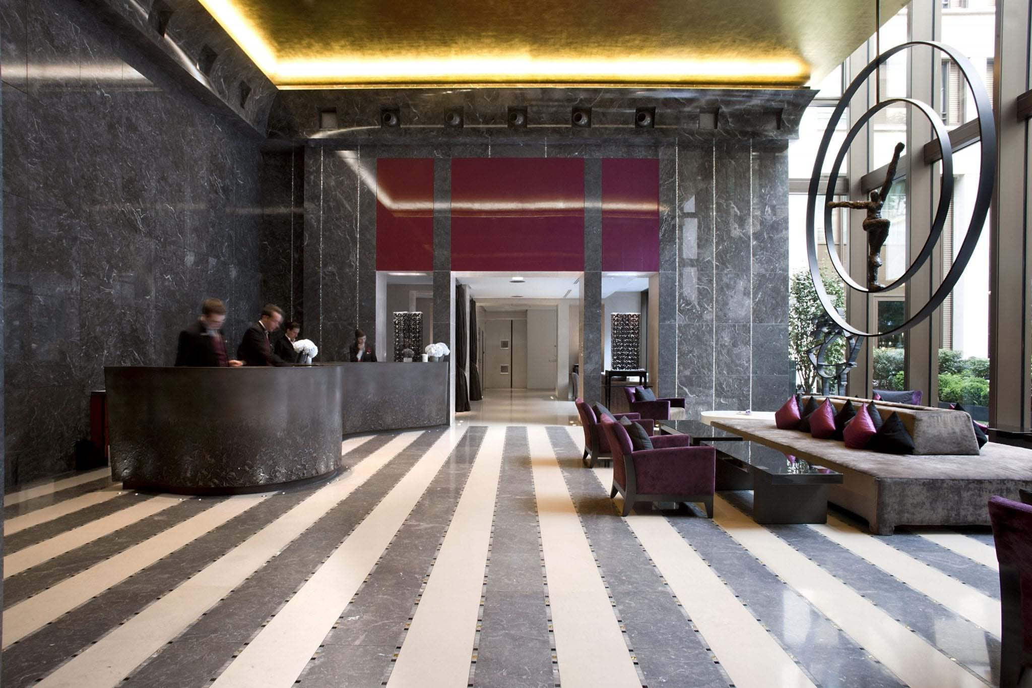 Mandarin Oriental Hotel in Paris France