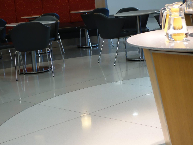 AA Lounge in Heathrow, UK