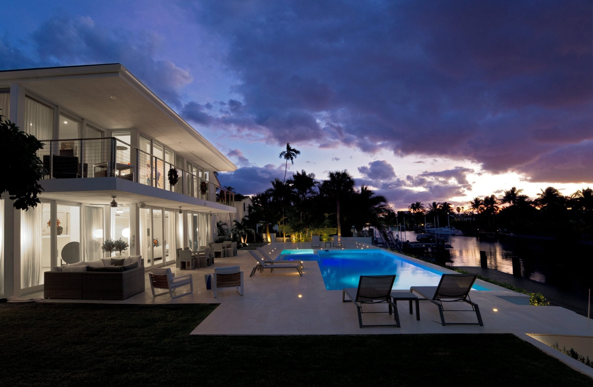 Private Villa in Miami Beach, Florida