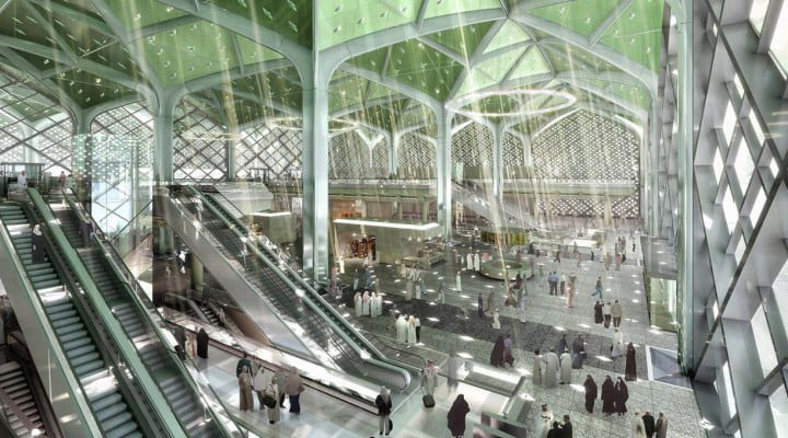 Foster+partners Saudi High Speed