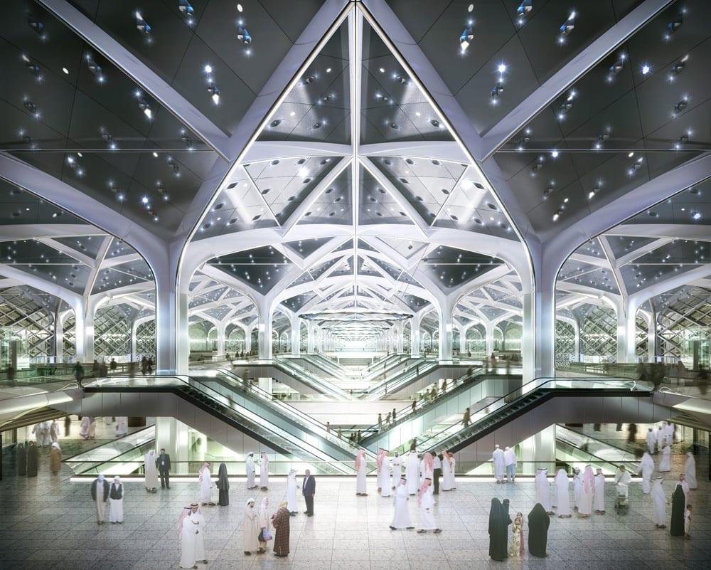 Haramain Jeddah Atrium