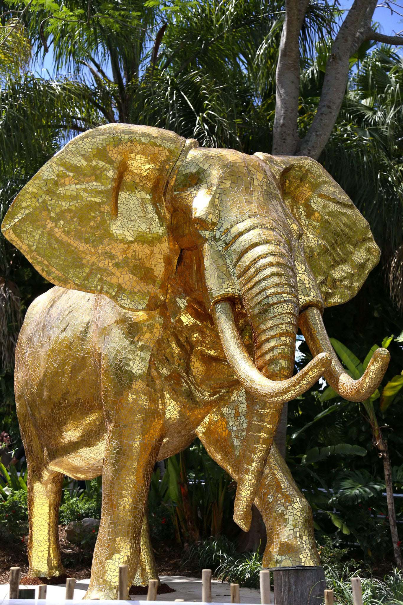 The Golden Elephant Zoo in Miami, Florida
