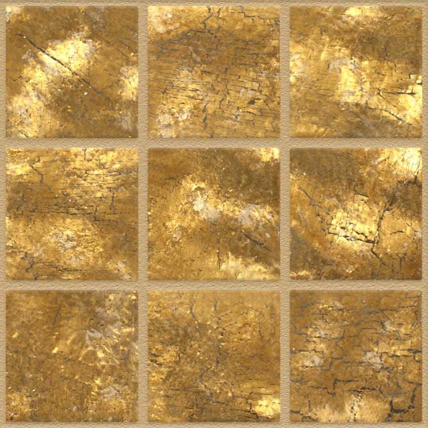 Smooth Yellow Gold 055 Wall