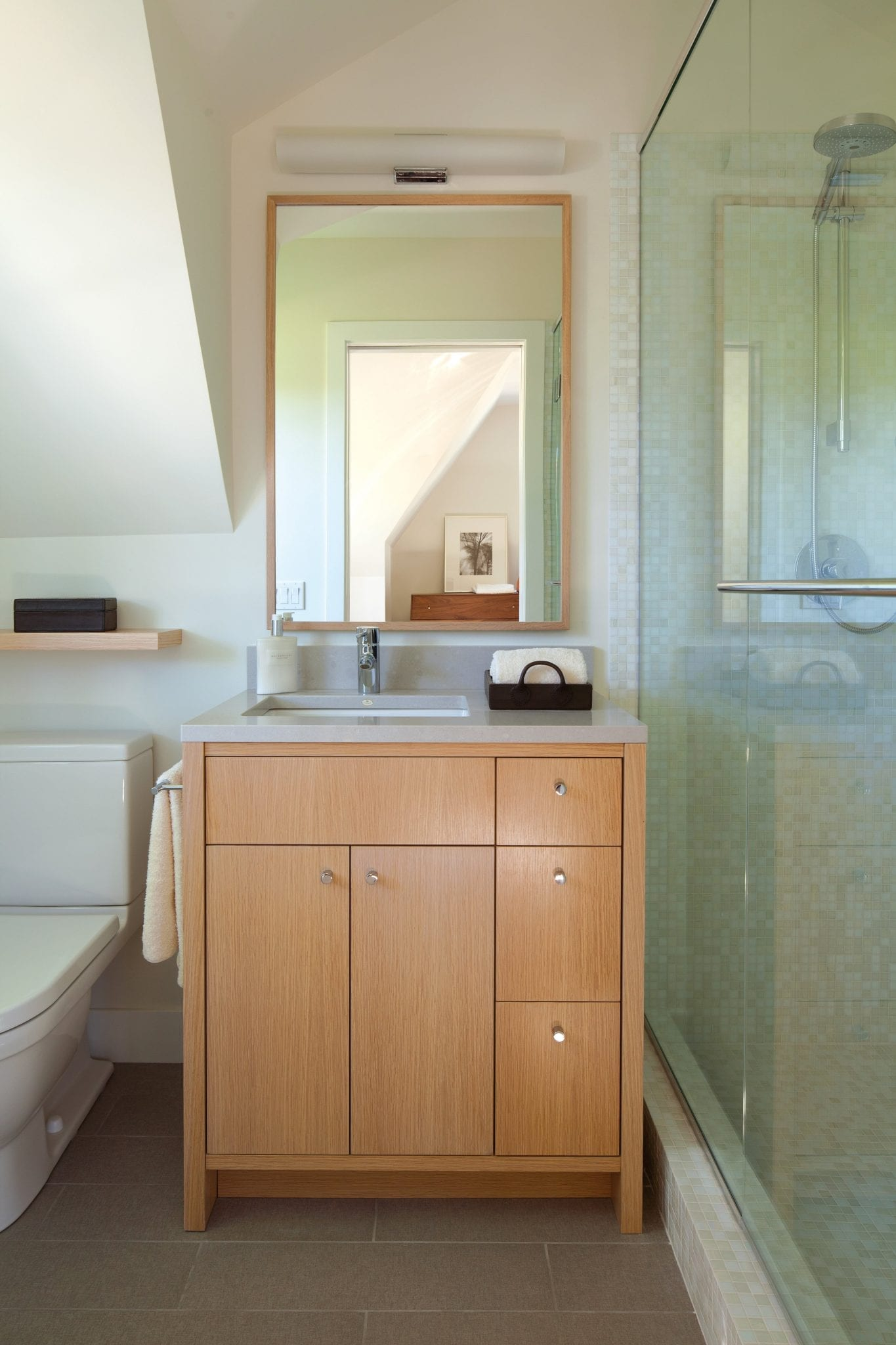 Guest Bath in Mirror Lake, Minnesota