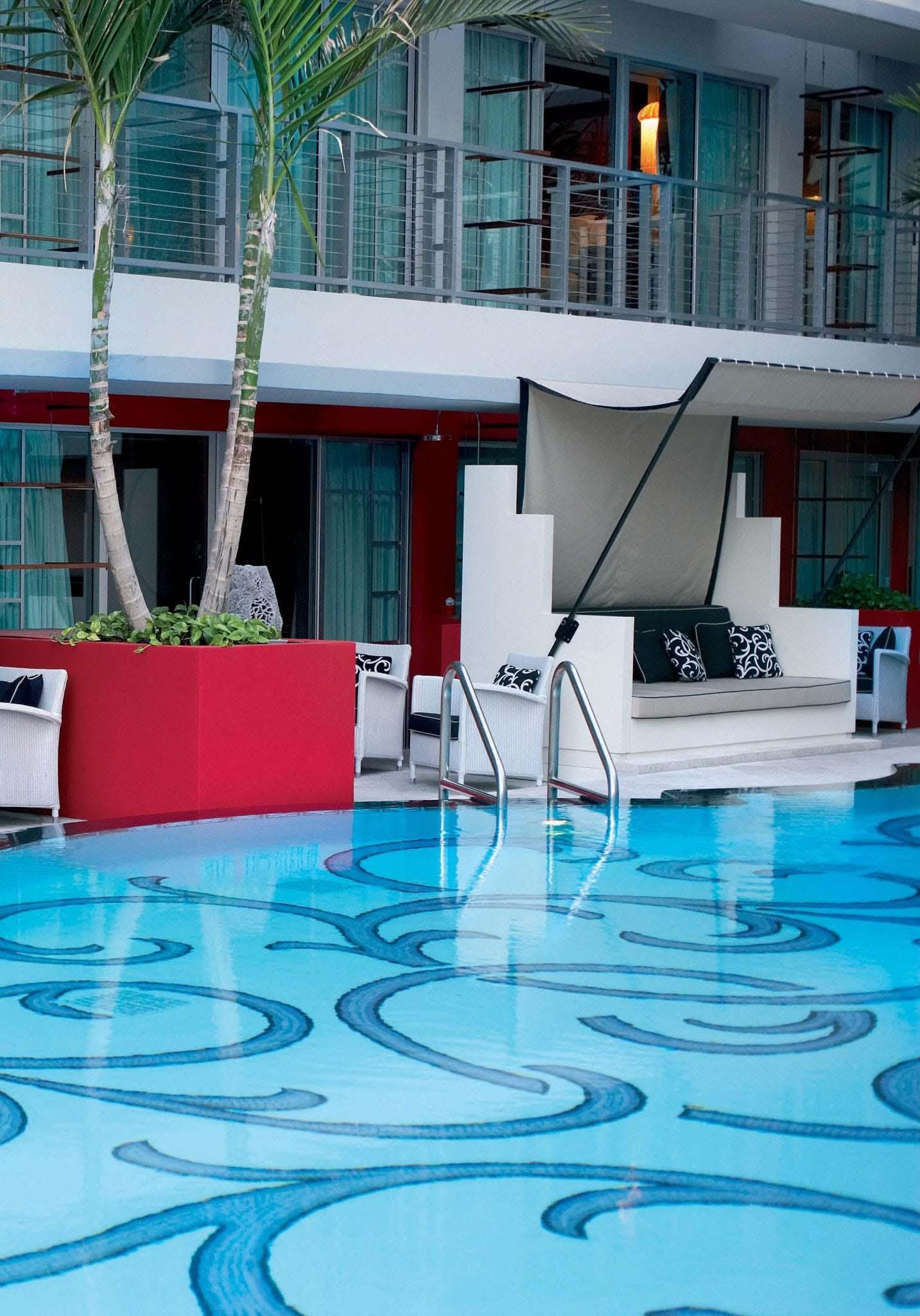 Victor Hotel in Miami Beach USA slide