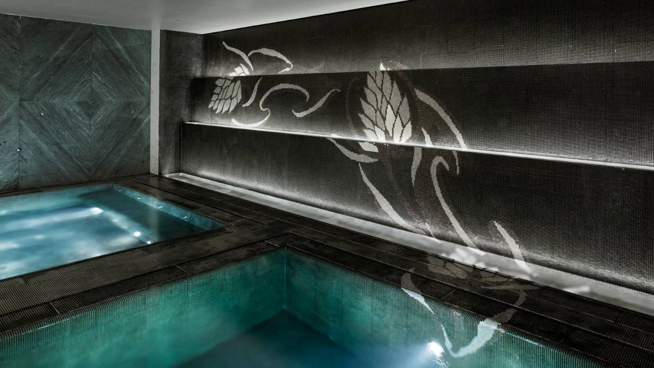 Four Seasons Hotel Moscow Pool and SPA in Moscow Russia Slide