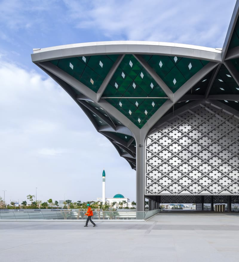 Foster Partners Ruben P Bescos Al Haramain High Speed Rail Stations 11