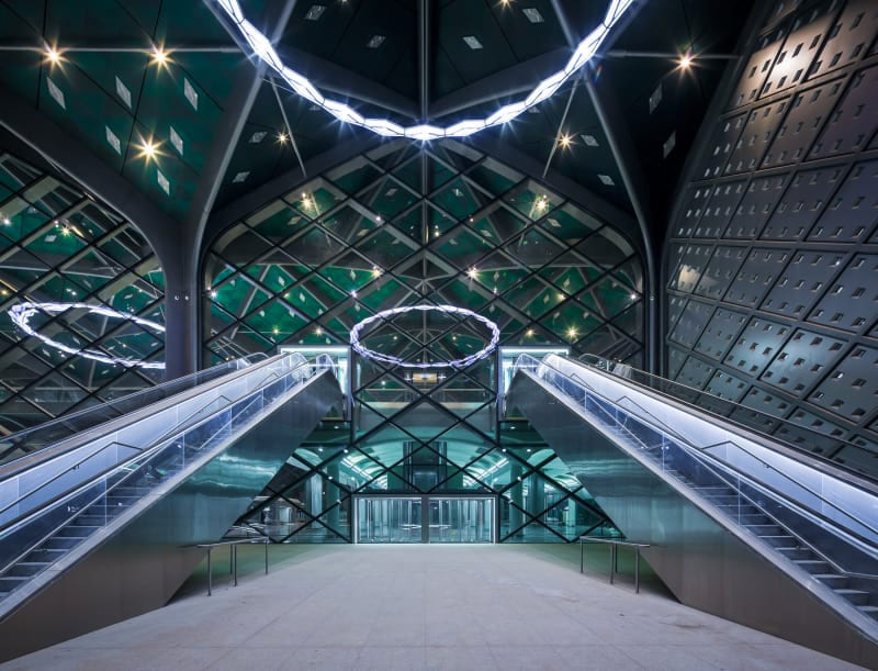 Foster Partners Ruben P Bescos Al Haramain High Speed Rail Stations 19