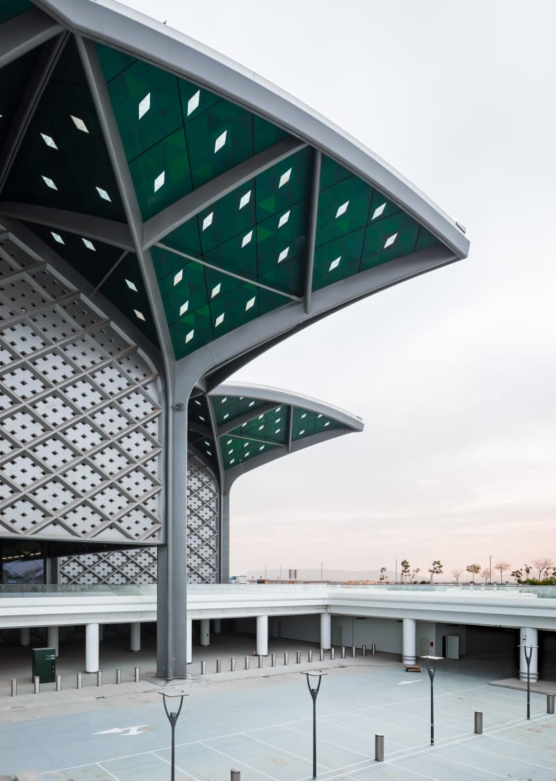Foster Partners Ruben P Bescos Al Haramain High Speed Rail Stations 5