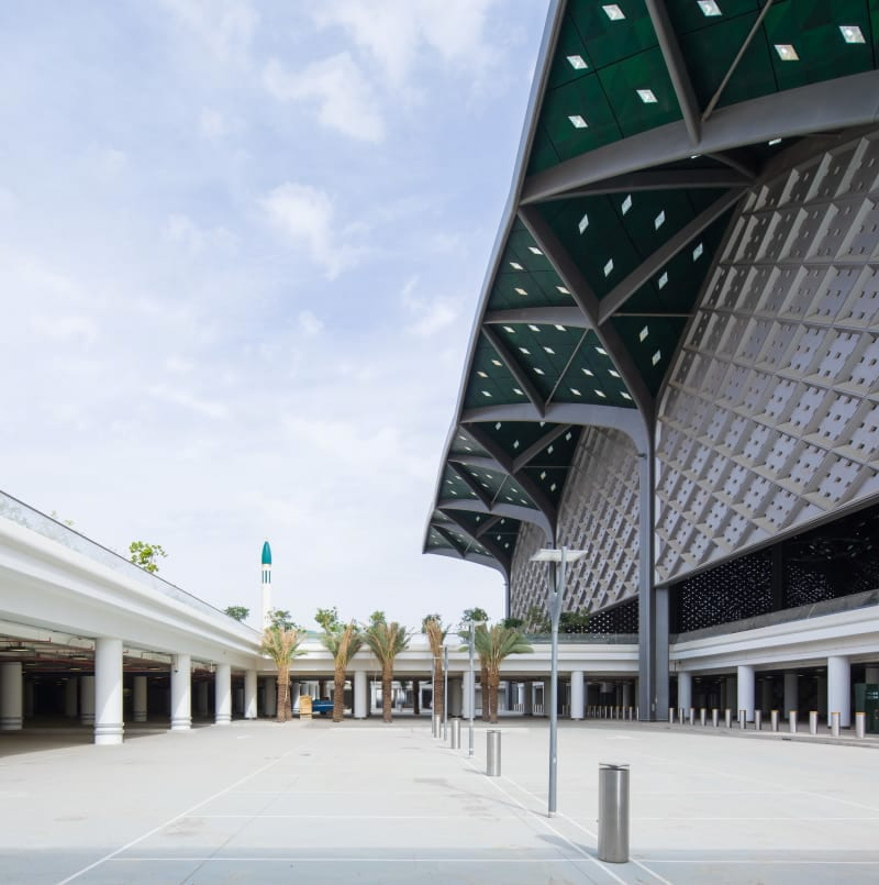 Foster Partners Ruben P Bescos Al Haramain High Speed Rail Stations 6
