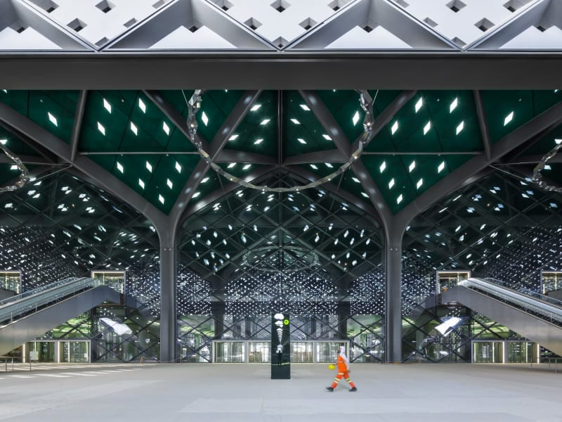 Foster Partners Ruben P Bescos Al Haramain High Speed Rail Stations 8