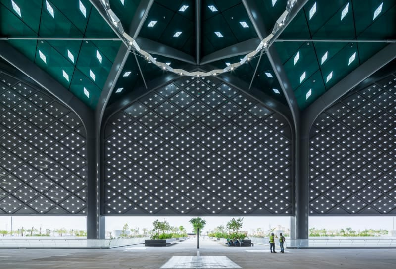 Foster Partners Ruben P Bescos Al Haramain High Speed Rail Stations 9