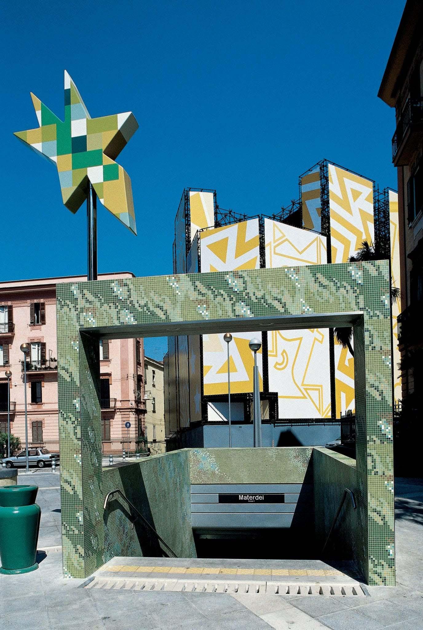 Metro Materdei in Naples Italy