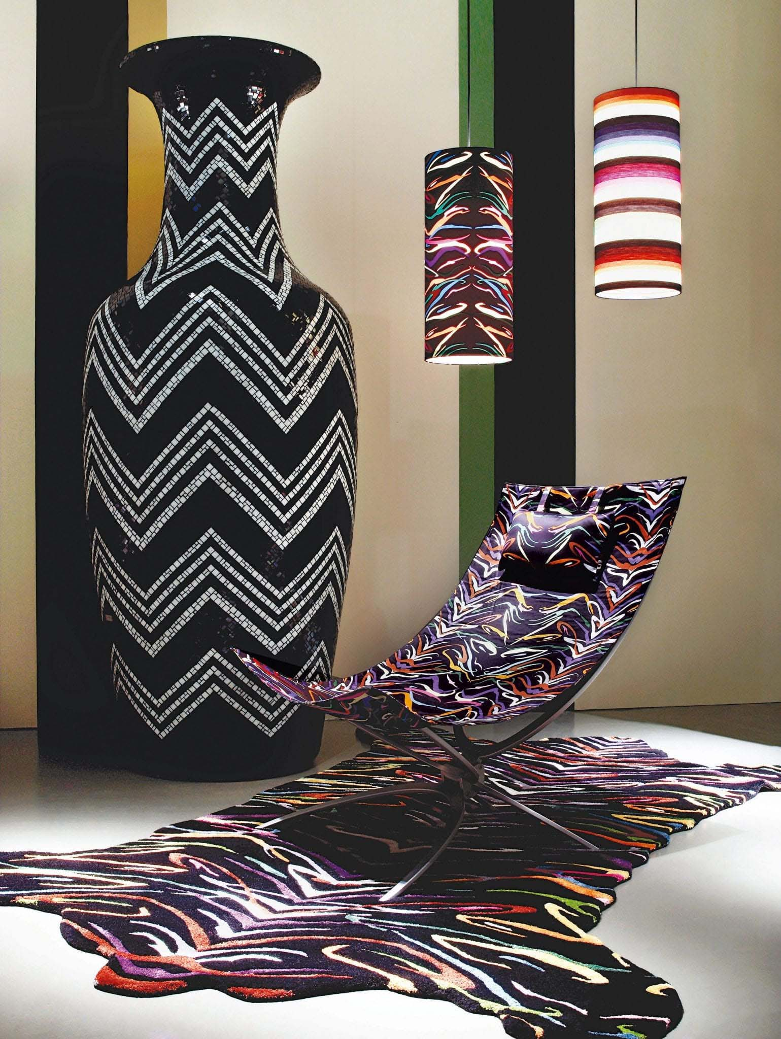 Missoni Home in Milan, Italy