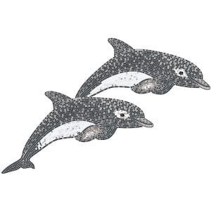 Decor Twins Dolphins