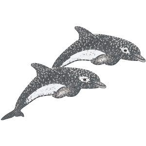 Decor Twins Dolphins