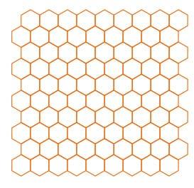 Hexagonal Modular Size