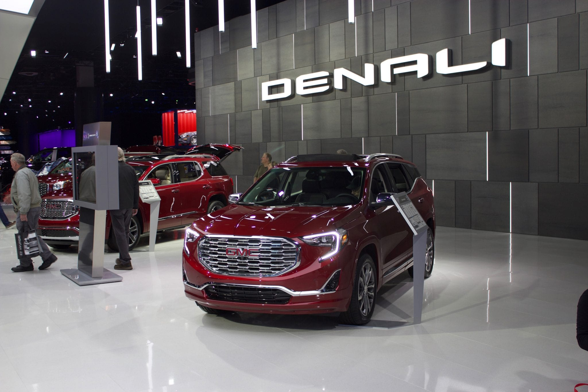 North American Auto Show in Detroit, Michigan