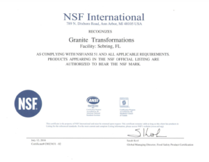 Trend Group Nsf Cert